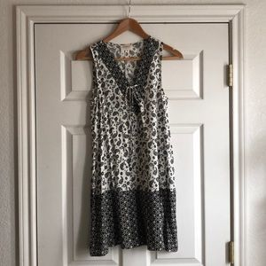 Black and White Everly Dress